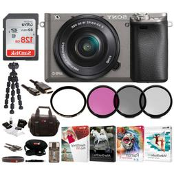 Sony Alpha a6000 Mirrorless Camera  with 16-50mm Lens Bundle