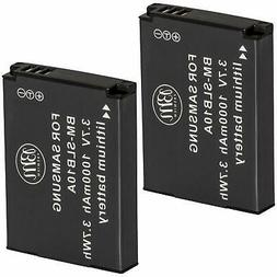 Big Mikes SLB-10A Batteries for Select Samsung Digital Camer