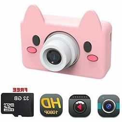 DENT Cameras & Camcorders Camera For Kids Toy HD 8MP Video D