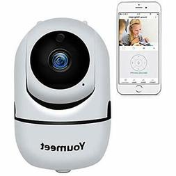 Dome Cameras WiFi IP For Home Security - 1080P Video Baby Mo