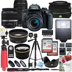 Canon EOS Rebel T6 DSLR Camera w/ EF-S 18-55mm IS II and EF
