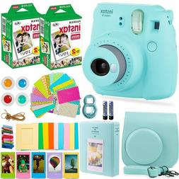 FujiFilm Instax Mini 9 Instant Camera + 40 Fuji Film + Bundl