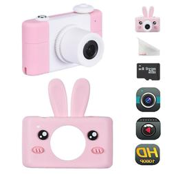 Kids Camera Rechargeable Children Digital Cameras l With Rab
