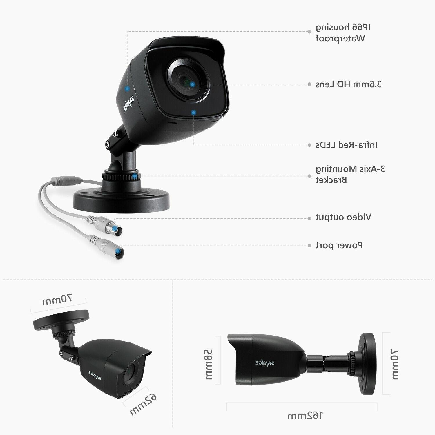 SANNCE 1080P 5IN1 CCTV Security System