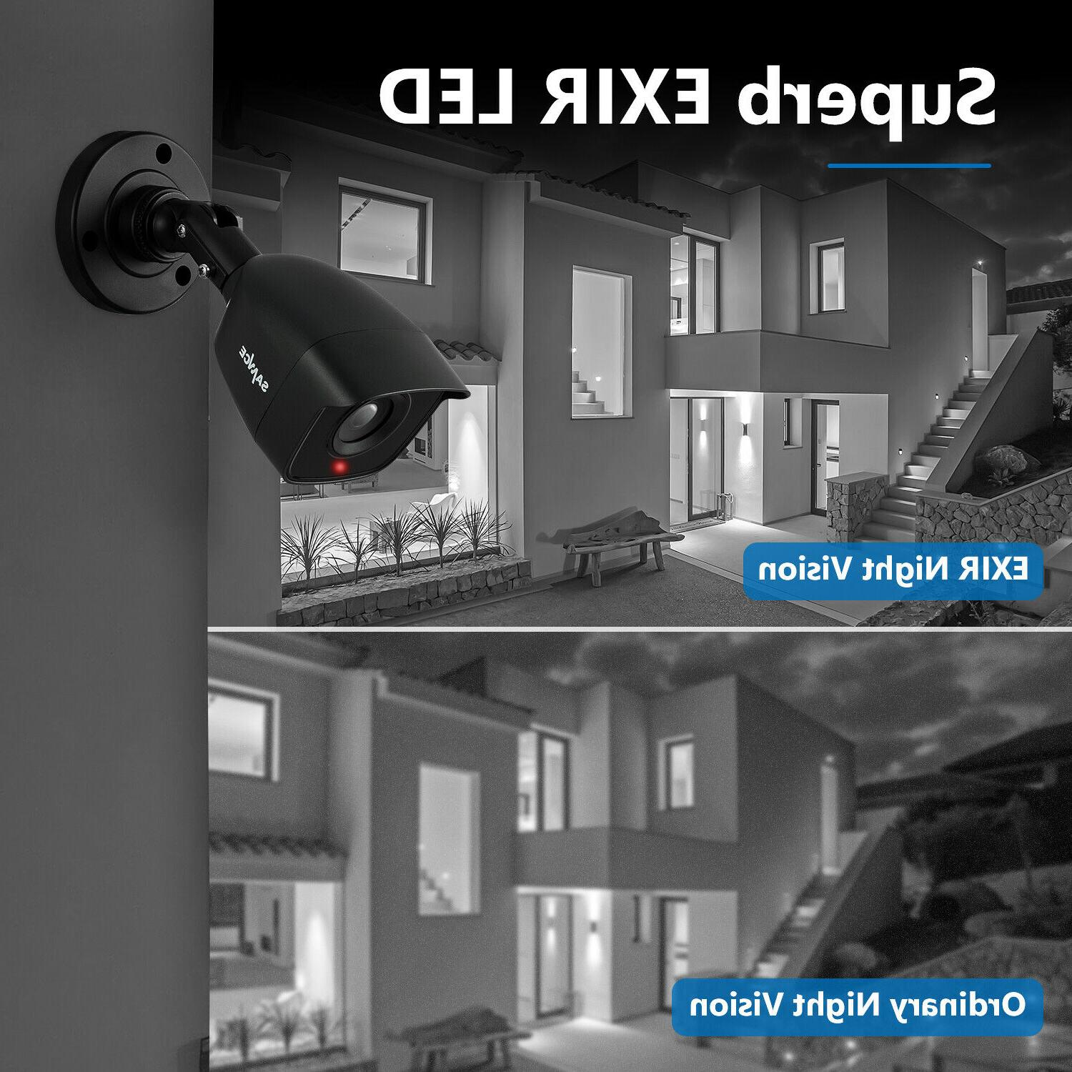 SANNCE 8CH HDMI 5IN1 CCTV Night Security