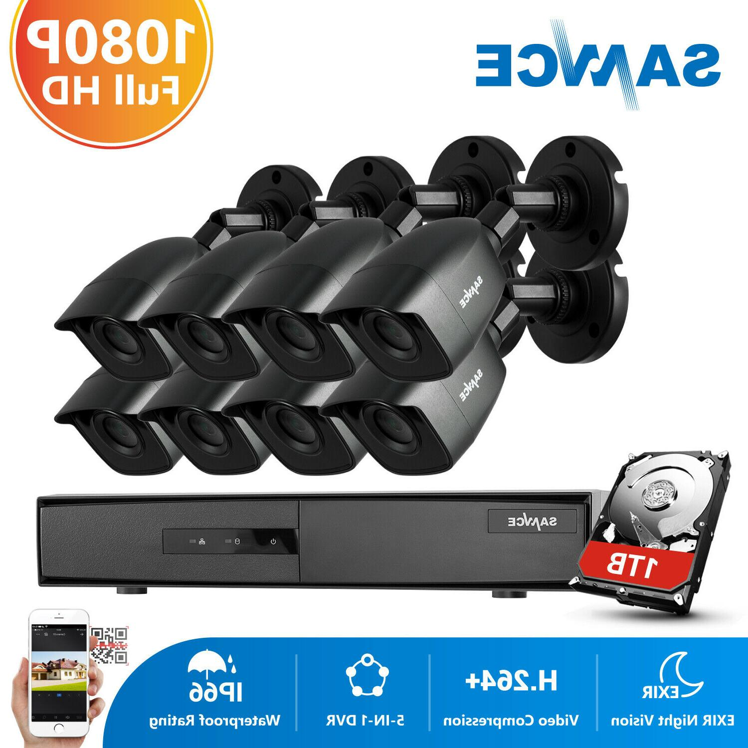 SANNCE 5IN1 HD CCTV Security System