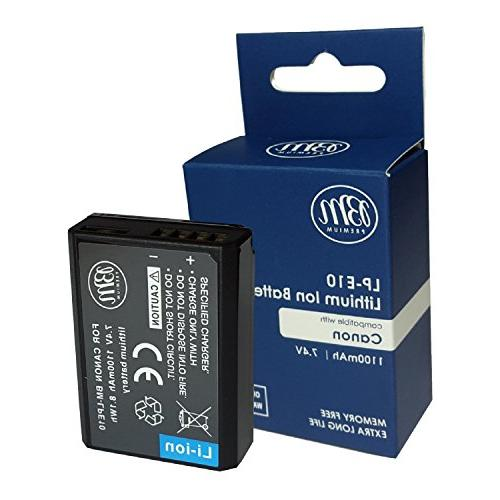 BM LP-E10 Battery and Charger for Canon EOS T5, T7, X50, X70, 1100D, EOS 1200D, EOS 1300D, EOS 2000D Camera