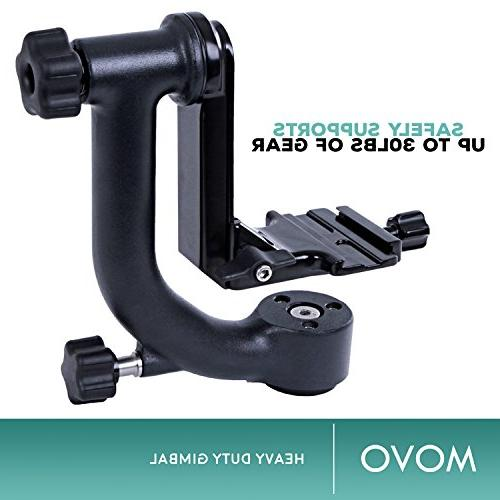 Movo GH700 Tripod with Quick-Release