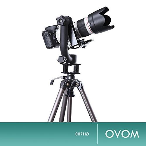 Movo GH700 Gimbal Tripod Head Quick-Release Plate