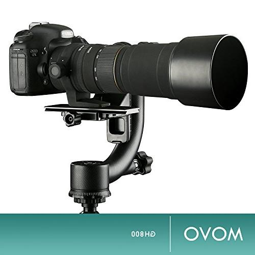 Movo Professional Tripod with Arca-Swiss Plate Photography