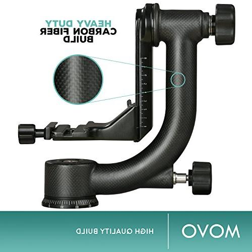 Movo GH800 Fiber Professional Head with Arca-Swiss - for