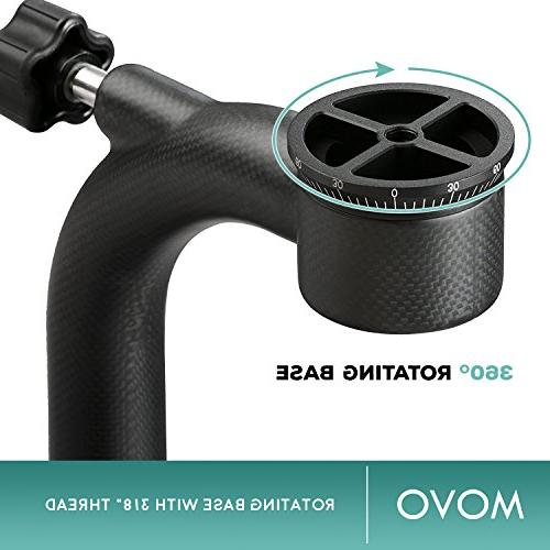 Movo GH800 Professional Gimbal Head with Quick-Release - Outdoor Photography