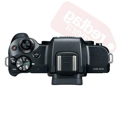 Canon EOS M50 Body Black Lens Kit STM+ + &