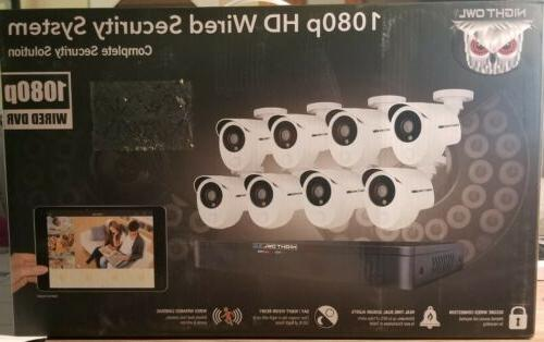 full system 8 camera 8 channel 2mp
