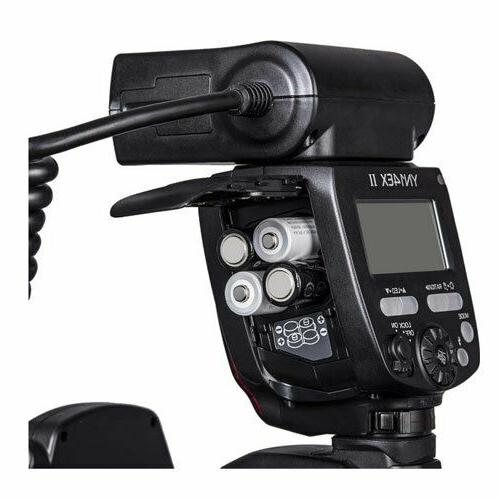 New YONGNUO Macro Flash for Camera 100mm 80D T6S
