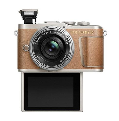 Olympus with EZ Camera Bag, and Card, Honey Brown