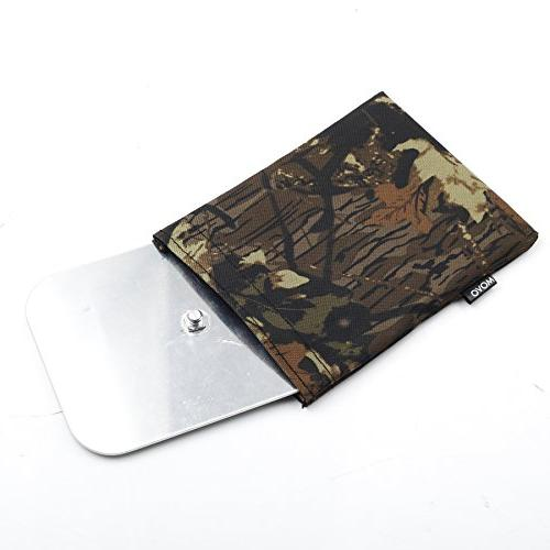 Movo Camouflage Camera Bean with Head Plate -