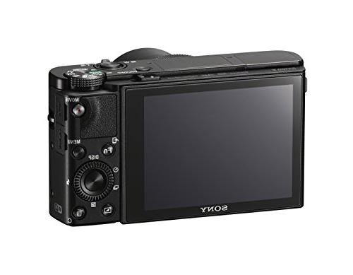 """Sony Digital Camera: RX100 Camera Hybrid AF, Shooting Speed & Detection 3"""" Viewfinder & Lens - Wi-Fi Connectivity -"""