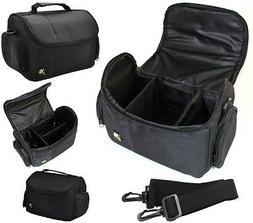 New Large Deluxe Camera Carrying Bag Case For Nikon D3400 D5