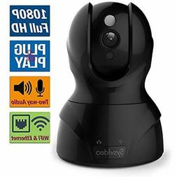 WiFi Dome Cameras Wireless IP Security For Home/Shop, 1080P