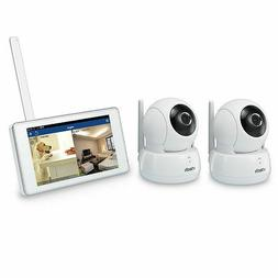 VTech Wireless Monitoring System with 2 Wi-Fi HD Pan&Tilt Ca